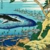 【くじらの話題】地震の予兆じゃないよねwww。 由比ケ浜の海岸にクジラ打ち上げら
