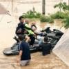 【救助の話題】涙出る!!「すぐ行っちゃるわ」 水上バイクで来たヒーロー 15時間かけ