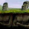 【古代文明の話題】イースター島のモアイ、穴を掘ったら胴体があった